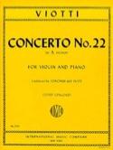 Concerto n° 22 in A minor Giovanni Battista Viotti laflutedepan.com