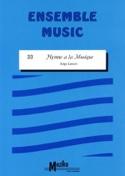Hymne à la musique Ensemble Serge Lancen Partition laflutedepan.be