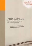 Pièces du XVIIIème Volume 2 Jean-Louis Charbonnier laflutedepan.com