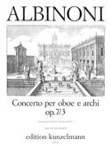 Concerto Op.7 N° 3 - Hautbois et Piano laflutedepan.com
