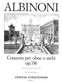 Concerto per Oboe op. 7 n° 6 Tomaso Albinoni laflutedepan.com
