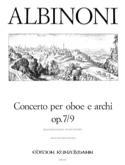 Concerto per oboe op. 7 n° 9 Tomaso Albinoni laflutedepan.com