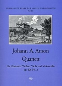 Quartett op. 106 Nr. 2 –Klarinette Violine Viola Cello laflutedepan.com