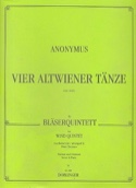 4 Altwiener Tänze - Bläserquintett - Partitur + Stimmen laflutedepan.com