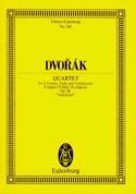 Streichquartett F-Dur, op. 96 B 179 - Partitur DVORAK laflutedepan.com