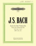6 Suites Volume 2 - Contrebasse BACH Partition laflutedepan.com