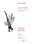 Ballade à Ophélie Guy Dangain Partition Clarinette - laflutedepan.com