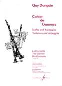 Cahier de Gammes Guy Dangain Partition Clarinette - laflutedepan.com