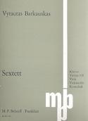 Sextett –Partitur + Stimmen - Vytautas Barkauskas - laflutedepan.com