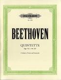 Quintette op. 29 - 4 - 104 - 137 -Stimmen BEETHOVEN laflutedepan.com