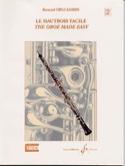 Le hautbois facile - Volume 2 Bernard Delcambre laflutedepan.com