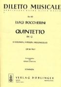Quintetto in G-Dur op. 60 n° 5 -Stimmen BOCCHERINI laflutedepan.com