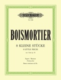 8 Kleine Stücke aus op. 40 - Fagott Cello u. Bc laflutedepan.com