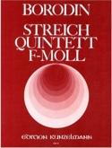 Streichquintett f-moll -Stimmen Alexandre Borodine laflutedepan.com