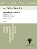 Streichquartett Nr. 2 D-dur –Stimmen - laflutedepan.com