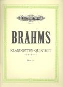 Klarinetten-Quintett h-moll op. 115 -Stimmen BRAHMS laflutedepan.com