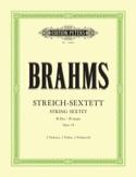 Streich-Sextett B-Dur op. 18 –Stimmen - laflutedepan.com