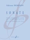 Sonate pour saxophone alto et violoncelle Edison Denisov laflutedepan