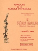 6 Pièces faciles - Vol D : 4 hautbois ou flûtes laflutedepan.com