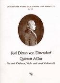 Quintett A-Dur -Stimmen Carl Ditters von Dittersdorf laflutedepan.com