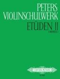 Peters Violinschulwerk - Etüden Bd. 2 laflutedepan.com