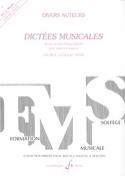 Dictées musicales - Volume 4 - Elève laflutedepan.com