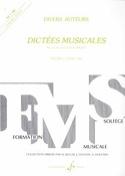 Dictées musicales – Volume 1 - Elève laflutedepan.com