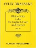 Kleine Suite op.87 - Félix Draeseke - Partition - laflutedepan.com