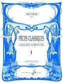Pièces classiques - Volume 1 - Hautbois Partition laflutedepan.com