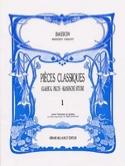 Pièces classiques - Volume 1 -Basson Partition laflutedepan.com