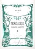 Pièces Classiques Volume 2 - Hautbois Partition laflutedepan.com