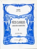Pièces classiques Volume 1 – Harpe - Partition - laflutedepan.com
