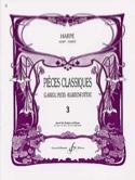 Pièces classiques Volume 3 –Harpe - Partition - laflutedepan.com