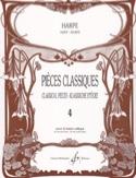 Pièces Classiques Volume 4 - Harpe Partition laflutedepan.com