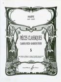 Pièces classiques Volume 5 - Harpe Partition laflutedepan.com