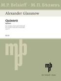 Streichquintett op. 39 - Stimmen Alexandre Glazounov laflutedepan.com
