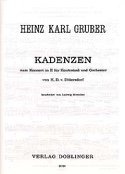 Kadenzen zum Konzert in E von Dittersdorff laflutedepan.com