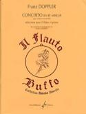 Concerto en ré mineur pour 2 flûtes Franz Doppler laflutedepan.com