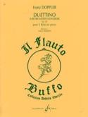 Duettino sur des motifs hongrois op. 36 Franz Doppler laflutedepan.com