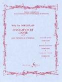 Invocation et Danse op. 59 Willy van Dorsselaer laflutedepan.com
