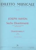 6 Divertimenti, Divertimento Nr. 1 D-Dur -partitur + Stimmen laflutedepan.com