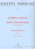 6 Divertimenti, Divertimento Nr. 2 G-Dur -Partitur + Stimmen laflutedepan.com
