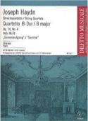 Quatuor à Cordes op. 76 n° 4 - Parties Joseph Haydn laflutedepan.com