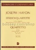 Streichquartett B-Dur op. 76 n° 4 Hob. 3 : 78- Partitur laflutedepan.com