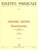 Divertimento D-Dur -Horn Viola Violone - Stimmen laflutedepan.com