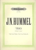 Streichtrio G-Dur HUMMEL Partition Trios - laflutedepan.com