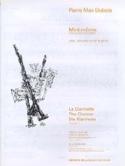 Mini-Môme Pierre-Max Dubois Partition Clarinette - laflutedepan.com