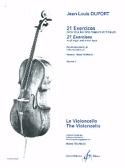 21 Exercices pour violoncelle - Volume 1 laflutedepan.com