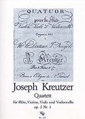 Quartett op. 2 n° 1 - Flöte Violine Viola Violoncello - Stimmen laflutedepan.com