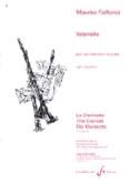 Valsinella Maurice Faillenot Partition Clarinette - laflutedepan.com